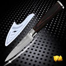 laser kitchen knives xyj brand 3 5 inch paring knife 7cr17 stainless steel kitchen