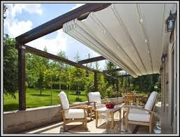 Awning Diy Retractable Awning For Deck Decks Home Decorating Ideas