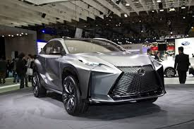 lexus lf nx interior lexus lf nx concept shows its edgy body with new 2 0l turbo in tokyo