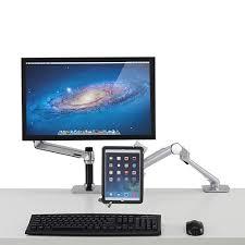 Lockable Desk Ergotron Lockable Tablet Mount Monitor Mounts Monitor Solutions