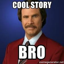 Cool Story Bro Meme - cool story bro aol image search results