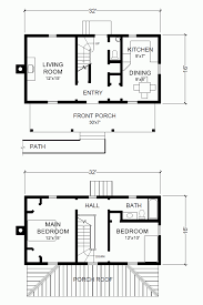 Small One Level House Plans Two Story House Plans With Open Floor Plan For Small Balconies