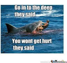 Funny Shark Meme - shark attack by ahsan360 meme center
