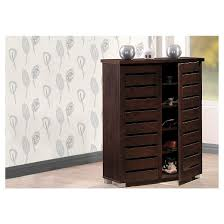 Modern Storage Cabinet Adalwin Modern And Contemporary 2 Door Wooden Entryway Shoes
