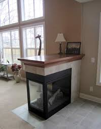 two sided gas fireplace full image for double sided electric