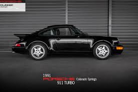 porsche 911 price used 1991 porsche 911 turbo for sale in colorado springs co p2719a1j