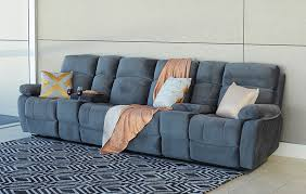 Fabric Sofas Perth Lounges Sebastien 4 Seater Fabric Home Theatre 9031 Perth