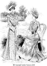 fashion in the edwardian era part i the ladies treasury of