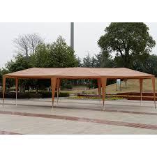 Bbq Canopy Walmart by Outunny 10 U0027 X 30 U0027 Gazebo Canopy Party Tent W Removable Side Walls