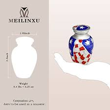 burial urns for human ashes chapel hill memorial park keepsake funeral urn by meilinxu