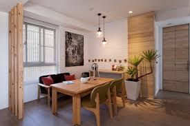 Apartment Dining Room Ideas Modern Apartment In Taiwan Exudes Inspiring Form And Freshness