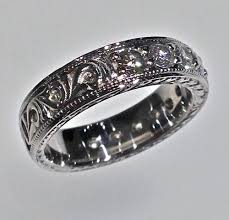 vintage wedding bands for wedding bands craft revival jewelers