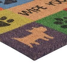 Buy Wipe Your Paws Door Hometrax Wipe Your Paws Doormat 18