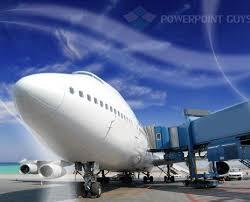 air cargo powerpoint template transportation powerpoint