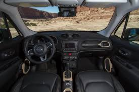 jeep renegade dashboard 2016 jeep renegade the new compact suv in the uae