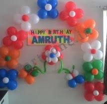 images of birthday decoration at home page all hyderabad birthday packages for kids balloon