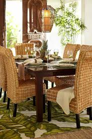 wicker dining room chairs dinning tropical dining room chairs dining table and chairs