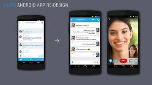 skype android app skype personal design alejandro garcia design portfolio