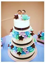 Origami Wedding Cake - origami wedding flowers cakepins w cake food booze