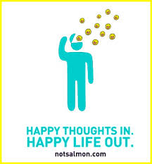 happy thoughts in happy out salmansohn