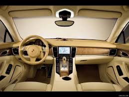 2010 porsche panamera interior dashboard view photo hd