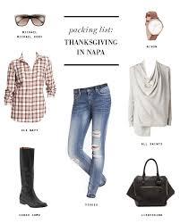 napa valley thanksgiving packing list erika brechtel