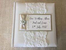 vintage wedding album with more than 40 pages personalised wedding photo albums ebay