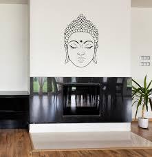 aliexpress com buy zen buddhism wall decal buddha face vinyl