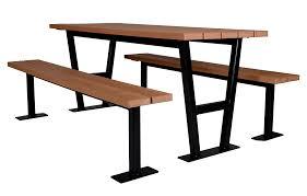 rutherford picnic table wishbone site furnishings
