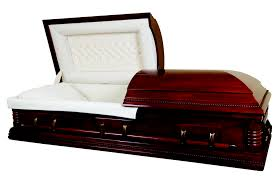 how much is a casket lincoln poplar medium mahogany finish with interior