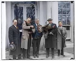 thanksgiving white house special delivery to the president for thanksgiving 1929 album