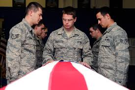 Military Funeral Flag Presentation Upholding Military Honors U003e Whiteman Air Force Base U003e Display