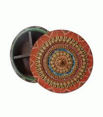 buy wooden dryfruit tray handicraft gift for home asthetics