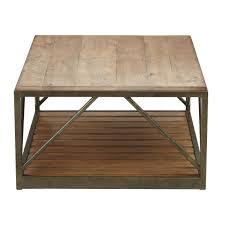 beam metal base coffee table ethan allen home decor furniture