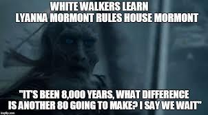 White Walker Meme - white walker surprise imgflip