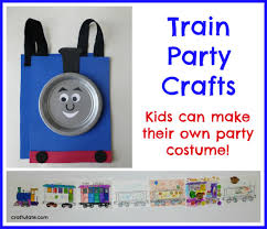 train party crafts craftulate