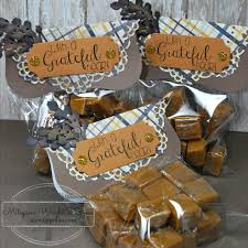thanksgiving table favors caramel treat bags craftwell blog