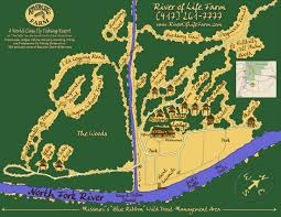 Map Of Missouri River River Of Life Farm Cabins Map