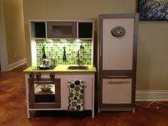 ikea duktig k che ikea duktig mini kitchen makeover added paint tile backsplash