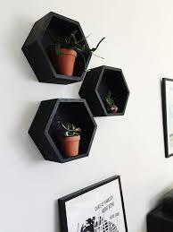 Diy Honeycomb Shelves by Diy Hexagon Shelves The Row House Nest