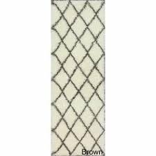 Plush Runner Rugs Nuloom Handmade Modern Ikat Grey Wool Runner Rug 2 U00276 X 8