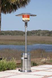 fire sense stainless steel patio heater with adjustable table fire sense stainless steel commercial patio heater