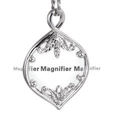 wholesale japan design magnifying glass necklace jewellers