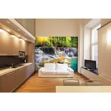 brewster 118 in x 98 in washed timber wall mural wals0032 the mystical waters wall mural