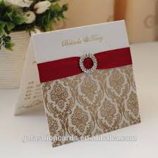 wedding invitation sle 2014 hot sale fancy wedding invitation cards with ribbon and