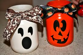 spooky mason jar decorations for halloween