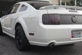 Mustang Gt Black Rims White Stangs With Black Rims The Mustang Source Ford Mustang