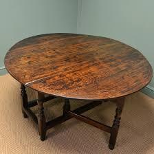antiques oak gateleg dining table solid oak gateleg dining table