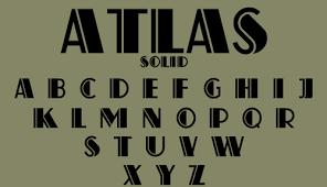 deco geometric harold u0027s fonts