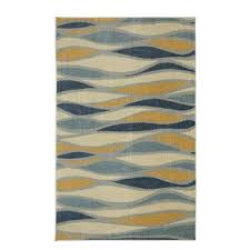 modern u0026 contemporary brown and teal area rugs allmodern